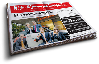 10 Jahre Kriemelmann Immobilien - Mit LeidenschaftundKompetenz