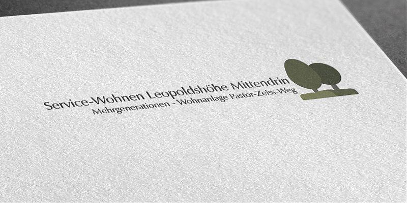 Corporate Design Service-Wohnen in Leopoldshöhe