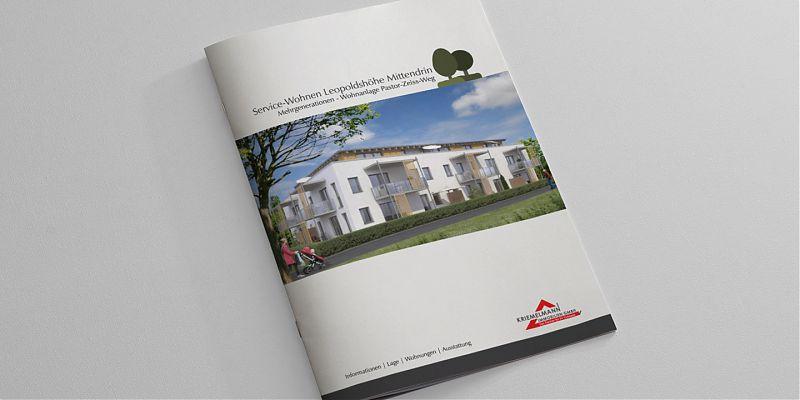 Infoprospekt Service-Wohnen in Leopoldshöhe