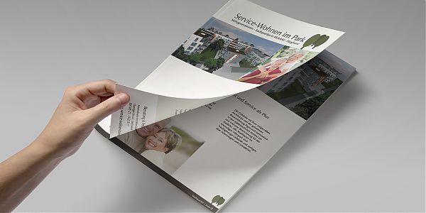 Infoprospekt Service-Wohnen im Park
