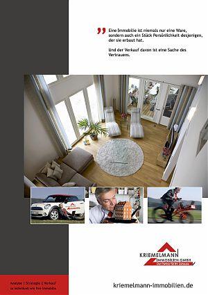 Akquisemagazin Kriemelmann Immobilien GmbH