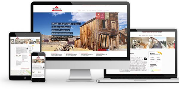 Website kriemelmann-immobilien.de