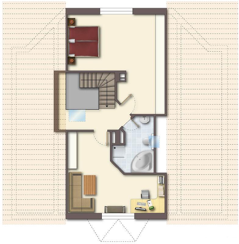 grundriss spitzboden. Black Bedroom Furniture Sets. Home Design Ideas
