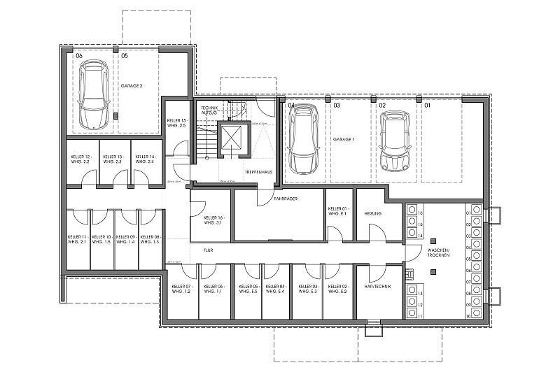 grundriss kg. Black Bedroom Furniture Sets. Home Design Ideas