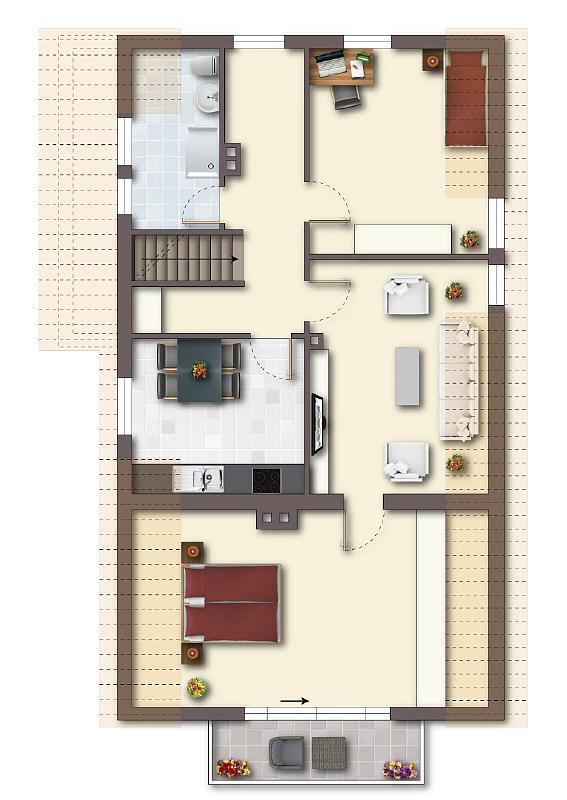 viel platz f r die familie gepflegtes zfh auf sch nem grundst ck in bi hillegossen. Black Bedroom Furniture Sets. Home Design Ideas