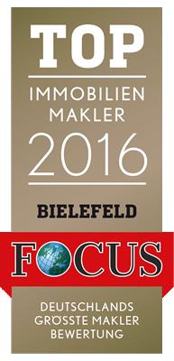 TOP IMMOBILIENMAKLER 2016 BIELEFELD - Kriemelmann Immobilien GmbH